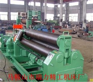 瑞力机床W11-6*2000机械卷板机