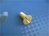 供应:铜件沉头一字槽螺栓