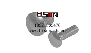 DIN 603大半圆头方颈螺栓(马车螺栓)