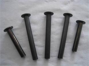 5mm杆径铁铆钉,铁台阶铆钉,铁中孔铆钉,铁空心铆钉