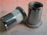 厂家直销不锈钢平头竖纹拉铆螺母