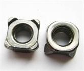 供应GB13680/DIN928四方焊接螺母-B型 M4-M12 焊接螺母 点焊螺母