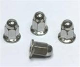 供应GB802.3六角法兰盖型螺母M6*17,6*21,6*32-平底