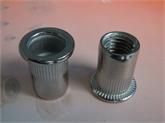 现货供应不锈钢大边竖纹M6拉铆螺母
