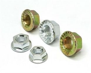 供应GB6177六角法兰面螺母M3-M24(厂家直销) 法兰螺母 花齿螺母