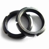 供应GB812圆螺母-45#钢淬火 圆螺母 锁紧螺母