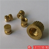 铜嵌件/预埋式铜螺母/滚花铜螺母/注塑铜螺母/铜卡件/手机铜螺母GB809-88