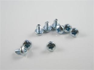 十字槽盘头三角牙自攻螺丝 DIN 7500-C