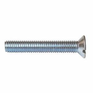 不锈钢DIN965、GB819十字槽沉头机螺钉,KM螺丝,平头平脚机牙螺丝-FSW-CP11