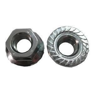 不锈钢DIN6923六角法兰面螺帽-FSW-CP16