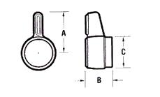 SHERA-LOC, 塑胶,旋钮,螺丝,螺母,自助安装