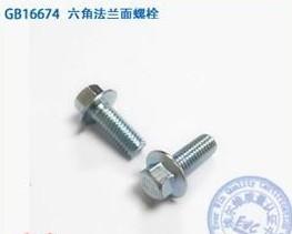 法兰螺栓 Hexagon flange bolts -FSW-CP17