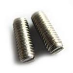 生产供应304不锈钢一字平端紧定机米 一字平 佛山螺丝