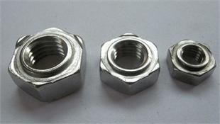 供应GB13681/DIN929不锈钢六角焊接螺母M4-M12-SUS304  焊接螺母