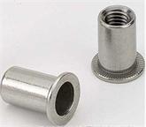 供应304不锈钢平头铆螺母M4-M12  拉帽 拉母 拉铆螺母