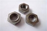 供应无脚六角焊接螺母M5-M12(厂家直销)焊接螺母 台阶螺母