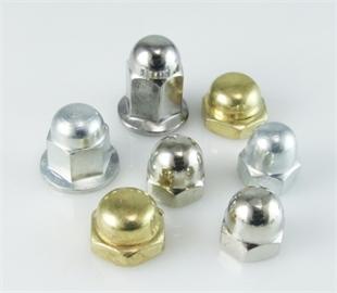 供应GB802组合盖形螺母M3-M24 镀镍焊接盖母