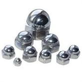 供应GB923/DIN1587不锈钢盖型螺母-SUS201,304