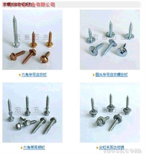 专业生产各种钻尾螺丝