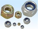 供应DIN985非金属嵌件锁紧螺母M2-M36 尼龙 防松螺母 锁紧螺母