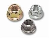 供应GB6187全金属六角法兰面锁紧螺母M4-M24 自锁螺母 铁片自锁