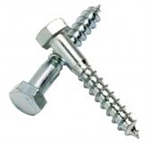 供应GB102/DIN571六角头木螺钉 木螺钉 外六角自攻 自攻螺钉