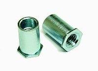 供应SO压铆螺母柱M3,M4,M5-通孔 螺母柱 压铆螺柱 快削钢