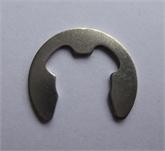 供应GB896不锈钢开口挡圈M1.2-M24-不锈钢304 E型卡簧 开口挡圈 卡簧