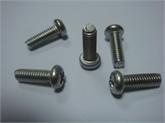 M4-12盘头十字机牙不锈钢螺丝 电声耳机音箱专用