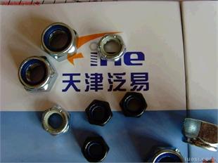 天津泛易供应ASTM、A193、B7、B7M、B8、B8M、B16、英制美制尼龙锁紧螺帽.全金属自锁螺帽.法兰螺母,