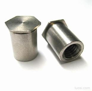螺母柱 圧铆螺母柱 电源螺丝 薄板铆螺母 铆螺母 铆螺钉 电子螺丝