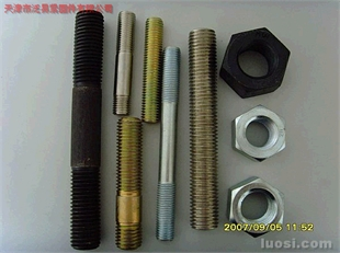 天津泛易供应ASTM、A193、B7、B7M、B8、B8M、B16、美制双头栓.A193 B7,.B16等美制螺栓