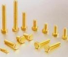 生产供应DIN 933铜外六角螺丝1000只批订