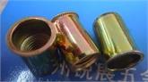 温州厂家供应m6小头圆柱竖纹镀彩锌拉铆螺母