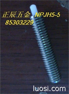 树脂头球头柱塞 本体不锈钢,柱塞塑料NPJH5-5