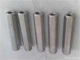 厂家生产供应不锈钢201 304六角长螺母 价格最便宜