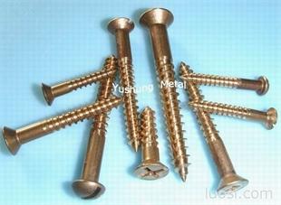 铜木螺丝硅青铜木螺丝(车螺纹)C65100/C65500