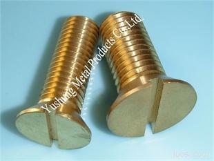 环保黄铜大直径沉头机丝