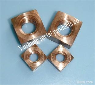 硅青铜方螺母1/4-20UNC