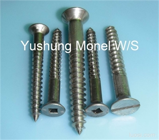 镍铜木螺丝MONEL K500
