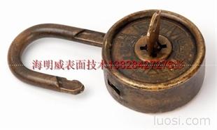 广东不锈钢发黑古铜做旧加工处理