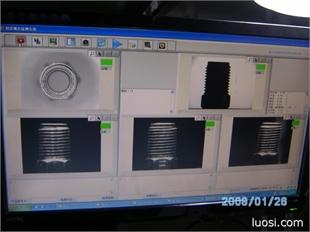 厂家直销 成熟稳定系统 两年超长保修紧固件尺寸分选机