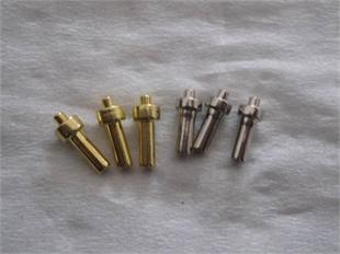 客户订制生产杆径2.0mm以下非标台阶钉,非标台阶螺丝,台阶连接件产品