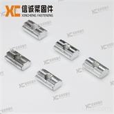中国标准工业铝型材30槽6系列配件方形滑块螺母