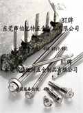 SUS410不锈钢六角法兰面钻尾螺丝