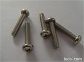 供应:不锈钢圆头机螺钉
