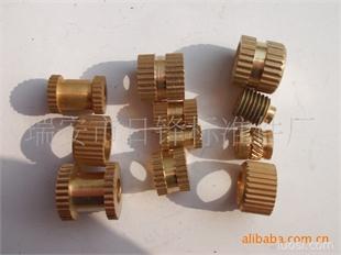 非标铜件 铜件加工 滚花铜螺母 预埋铜嵌件 铜螺母 温州铜件厂家