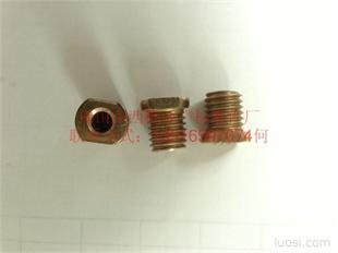 T 形槽用中心穿孔螺栓