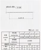 C1720W-H极细线 铍青铜超细线 最小直径0.08mm悬挂线