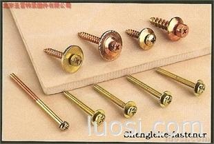 自攻螺钉,带垫自攻钉,五彩螺钉,镀锌螺钉